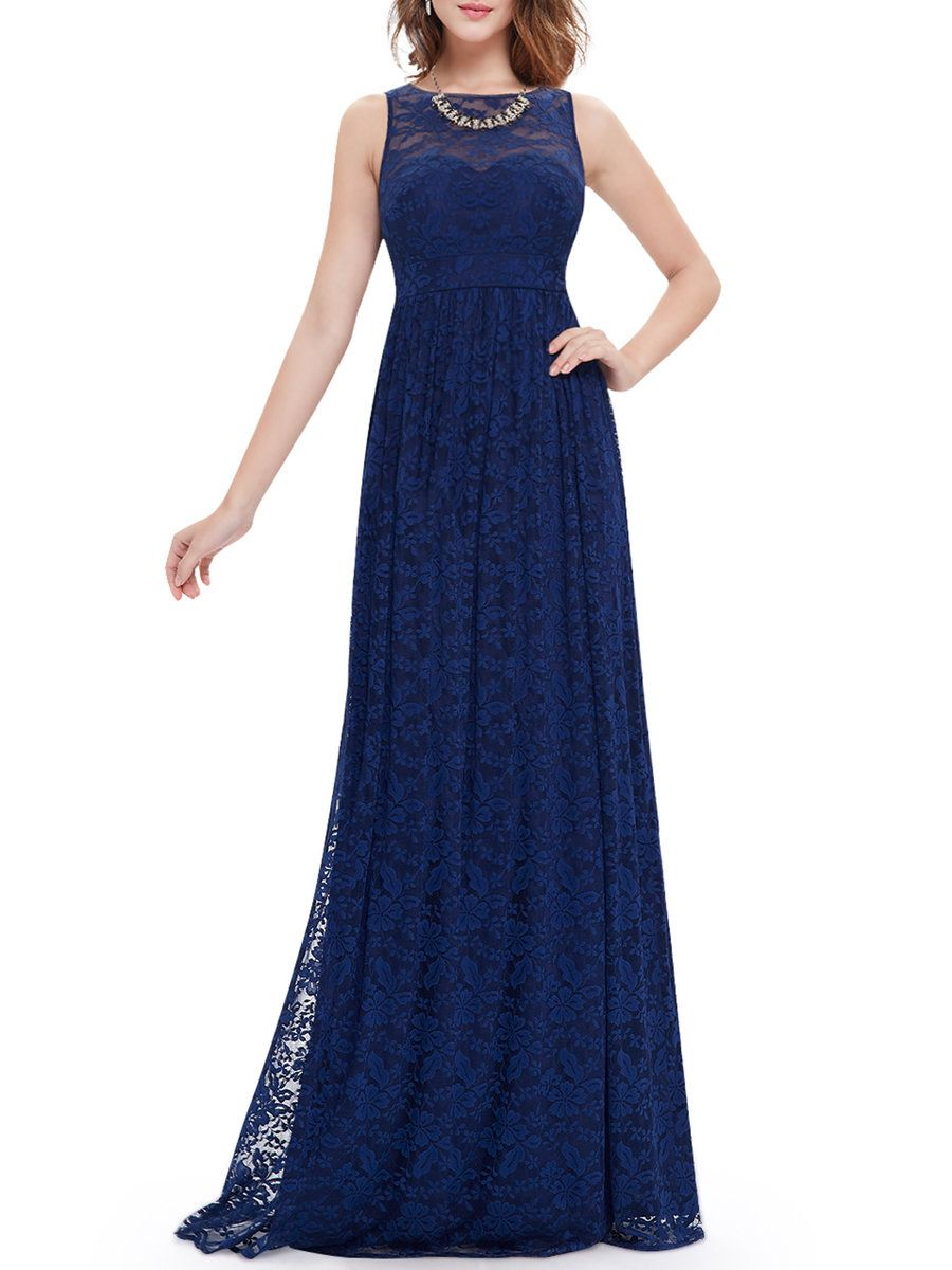 Adorewe stylewe maxi dresses cici wang navy blue floral