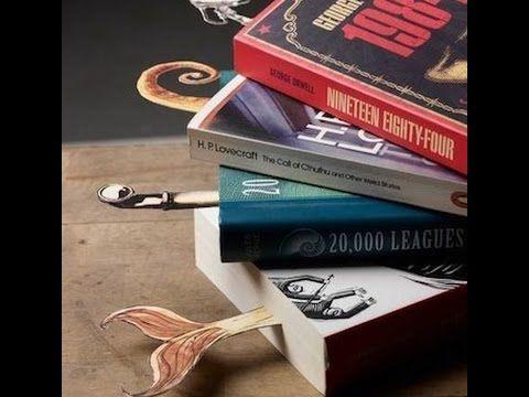 Manualidades: Separador de libros con Cabeza de Gato - Hogar Tv  por Jua...