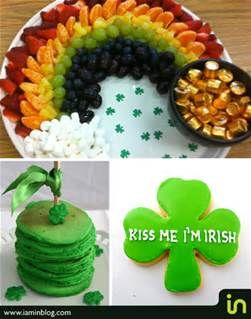 green food for st patrick's day - Bing Images