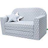 Sofa Beds Lulando Classic Children Sofa Bed Convertible Sofa for children Flip Sofa Sleep and Play pillows