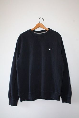 sweater nike black sweater oversized sweater tumblr sweater pullover  oversized sweatshirt crewneck vintage f27bf9606d