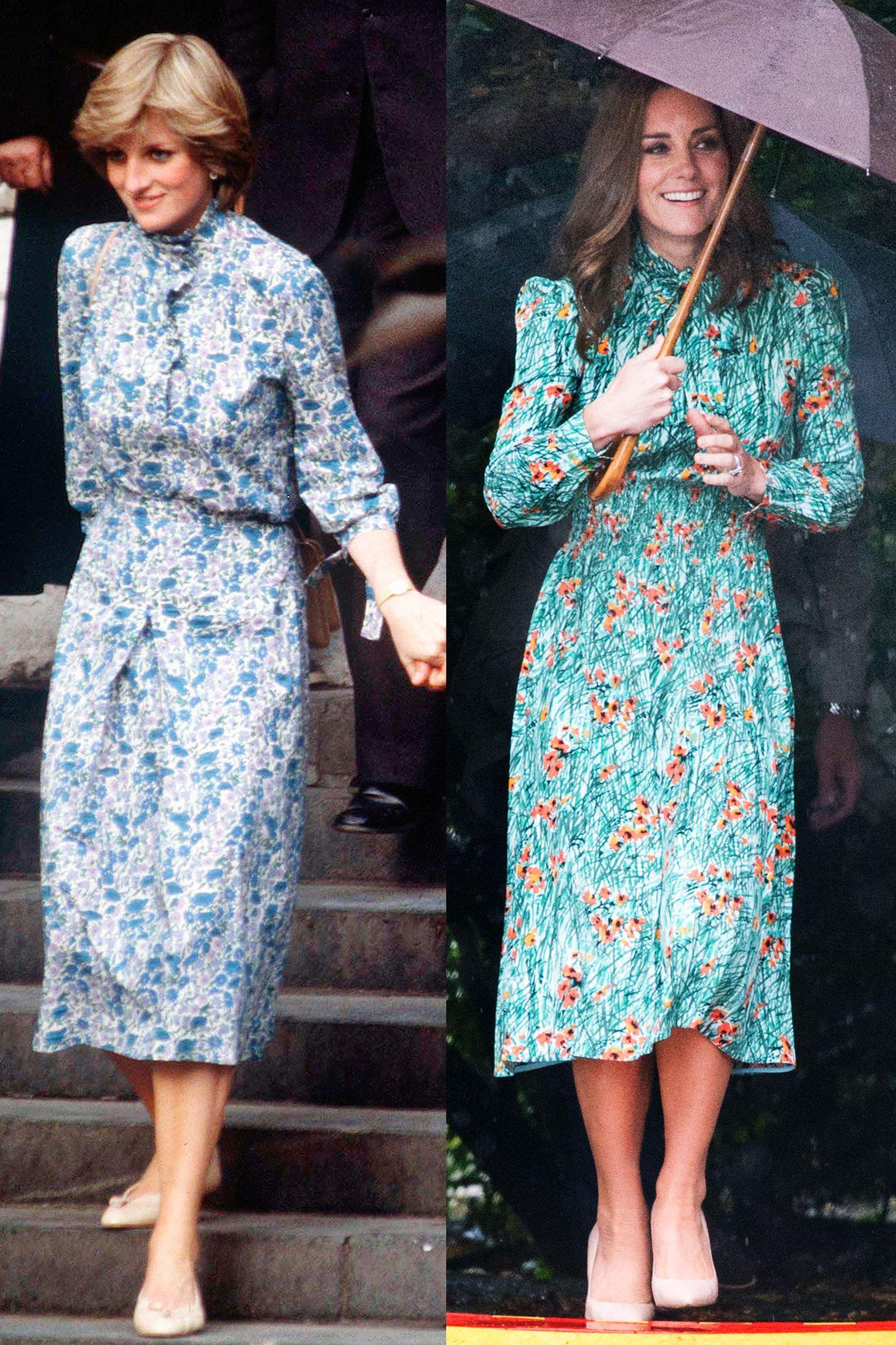 38 Times Kate Middleton Dressed Like Diana | Kate middleton, Diana ...