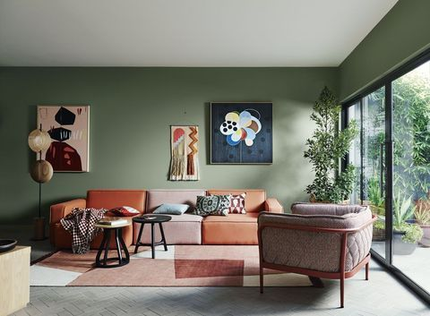 Your living room deserves decorating attention. Be inspired by our edit of the best looks -   16 sage green living room furniture ideas