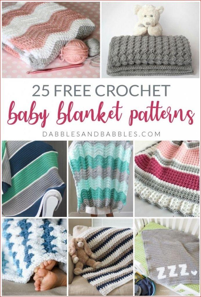 25 Baby Blanket Crochet Patterns - Dabbles & Babbles ...