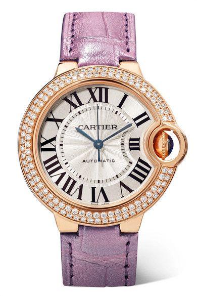 Ballon Bleu De Cartier Watch 36 Mm Mechanical Movement With