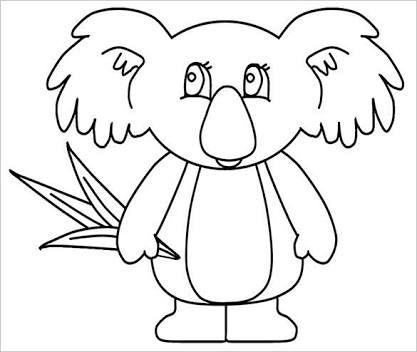 image result for koala craft template australia day ideas