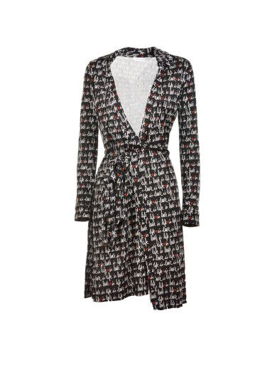 DIANE VON FURSTENBERG Diane Von Furstenberg Love Is Life Dress. #dianevonfurstenberg #cloth #dresses