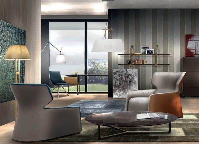 55 Einrichtungsideen fürs moderne Wohnzimmer im Jahr 2018