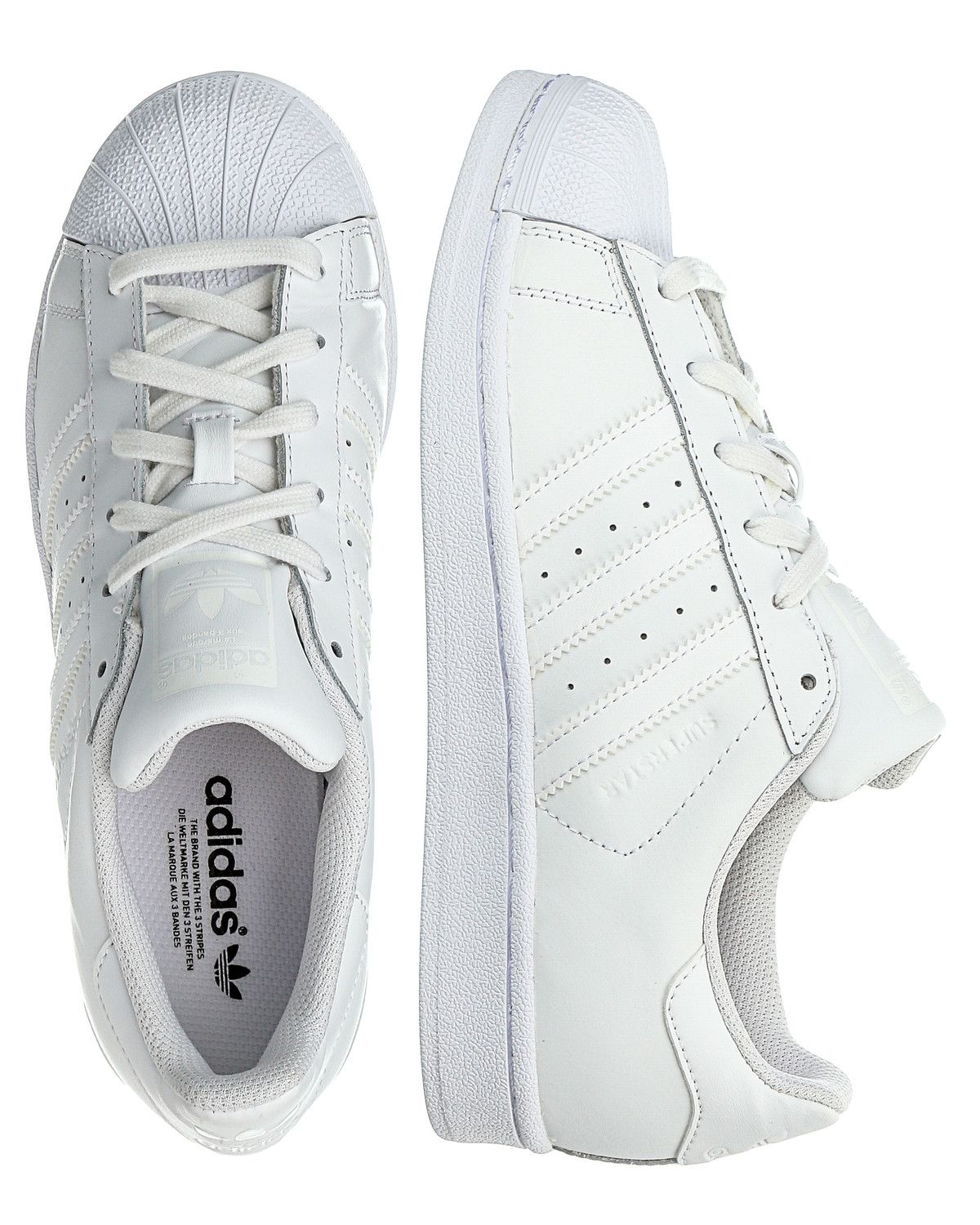Superstar Kleding.Adidas Originals Superstar Sneakers White Kleding Lente 2016