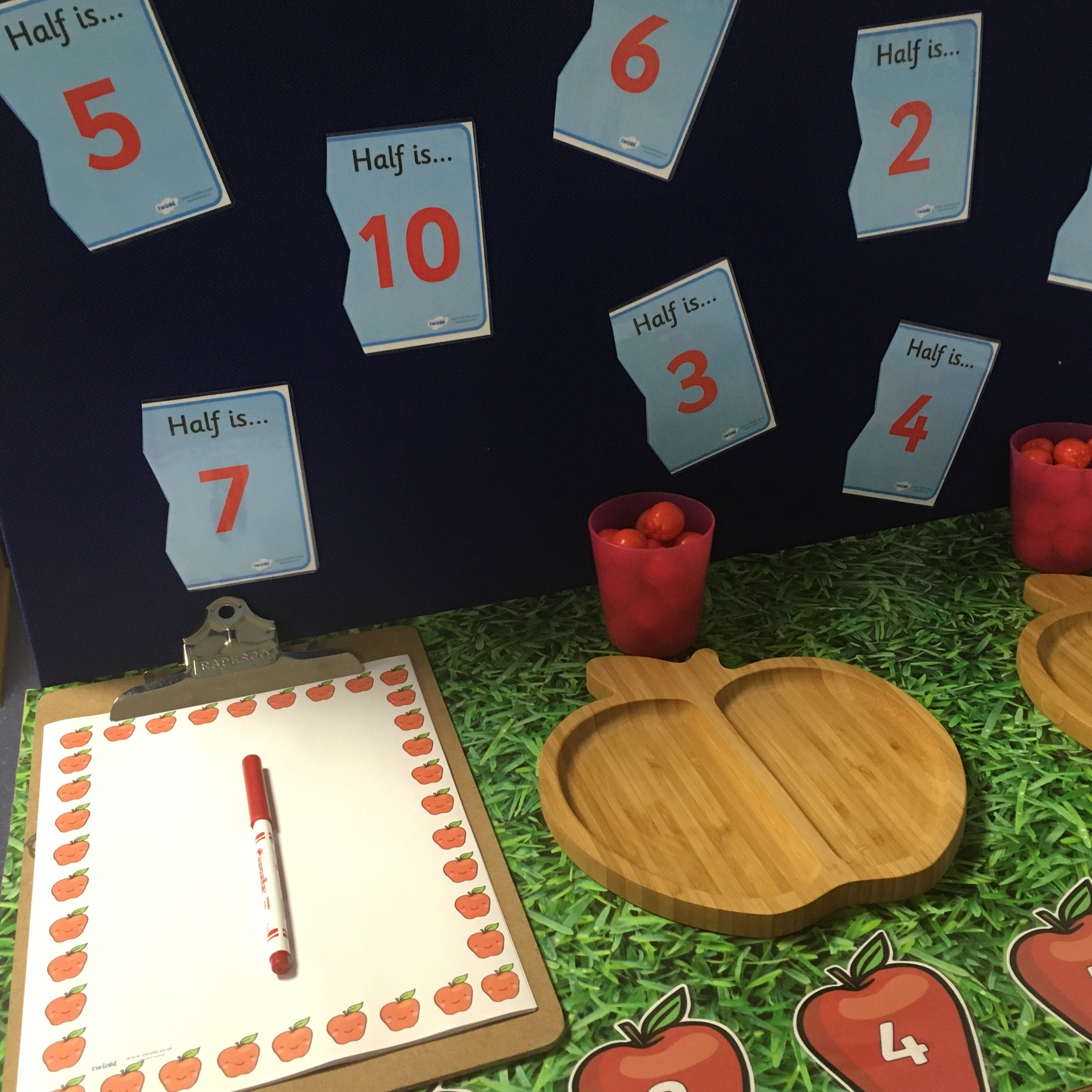 Eyfs Interactive Maths Areas