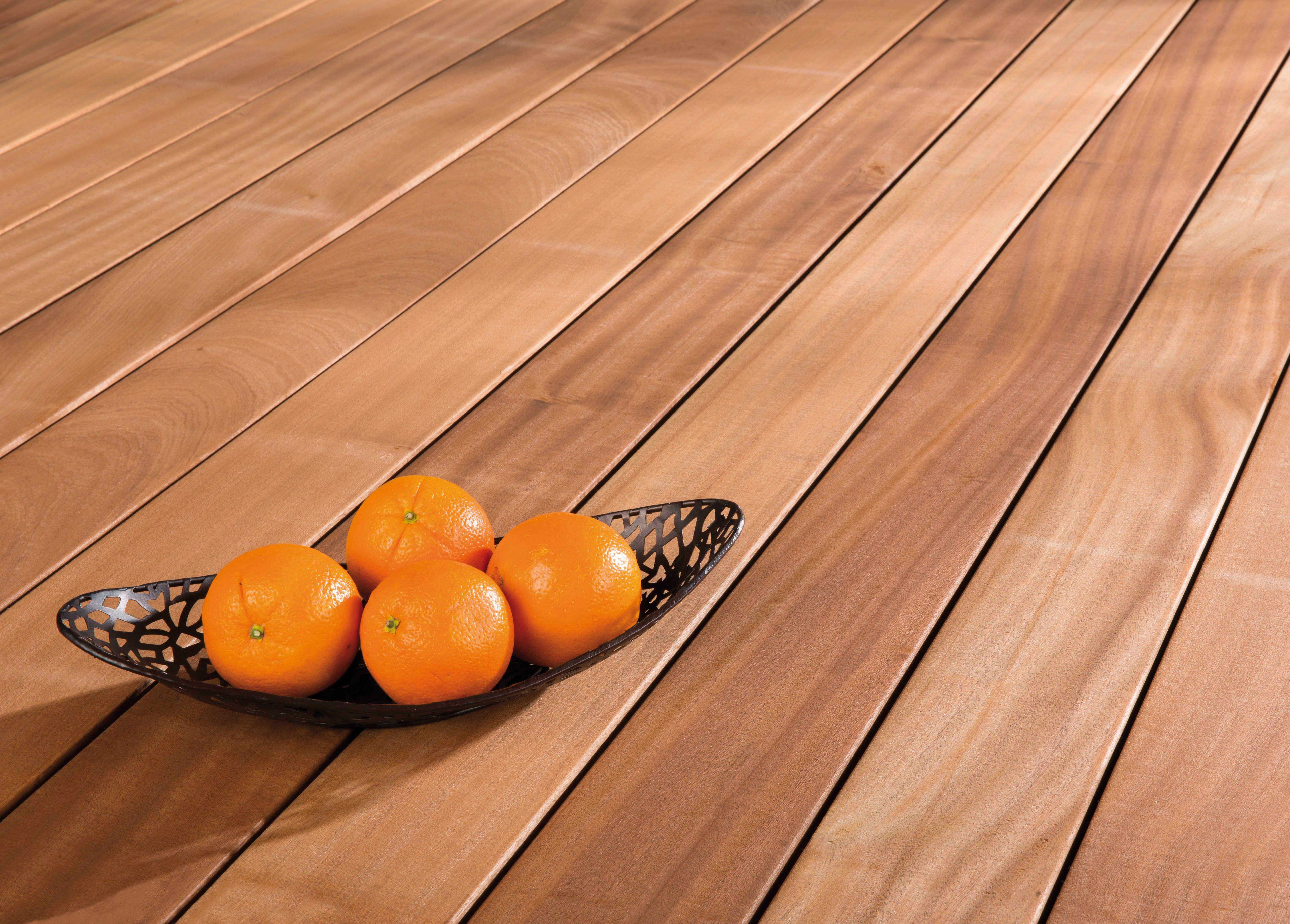 Sapeli   Terrassendielen | Holzterrasse, Gold  Bis Rotbrauner Farbton, FSC    Zertifiziert,