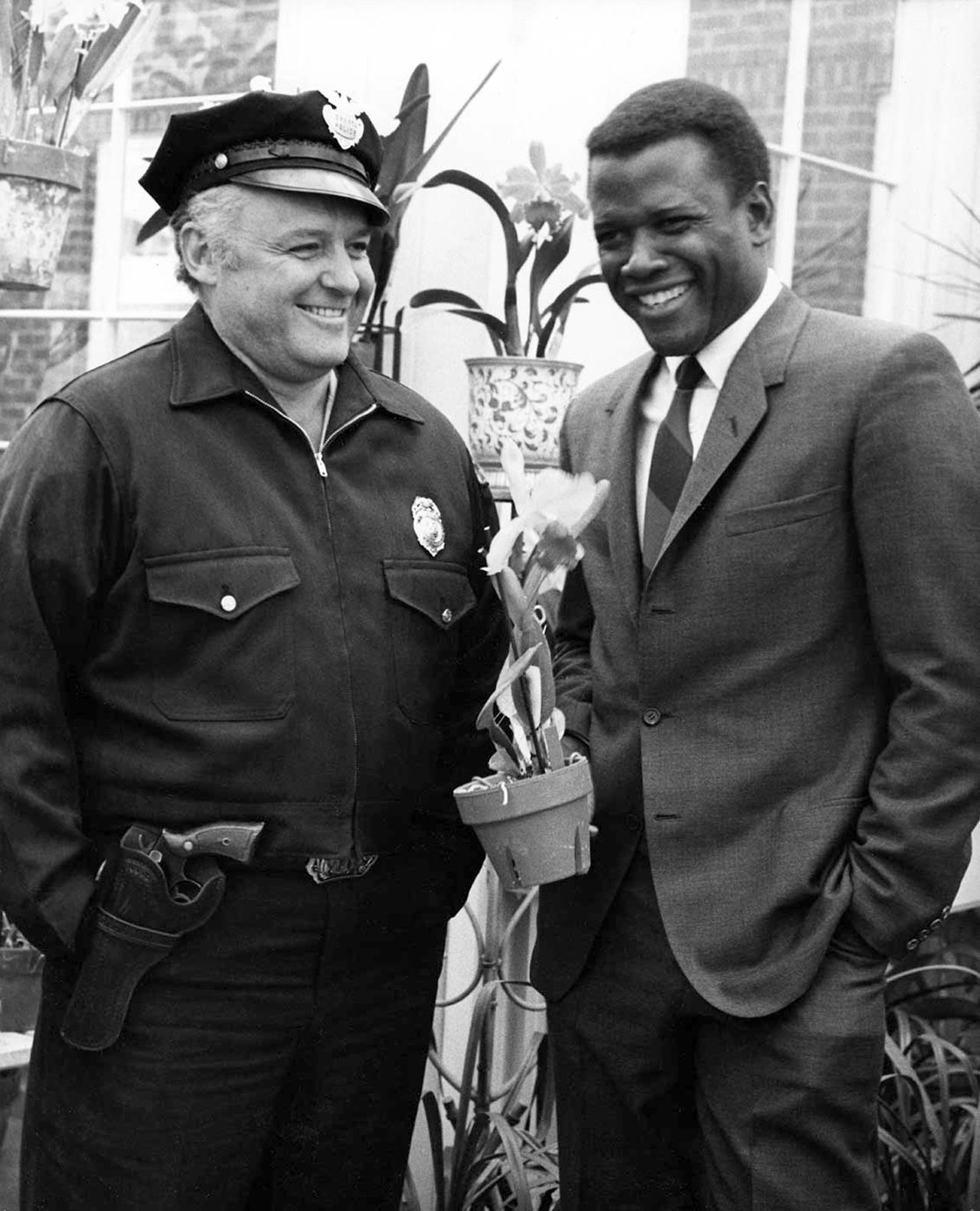 Voxsartoria 1967 Sidney Poitier And Rod Steiger Black Hollywood Hollywood Old Hollywood