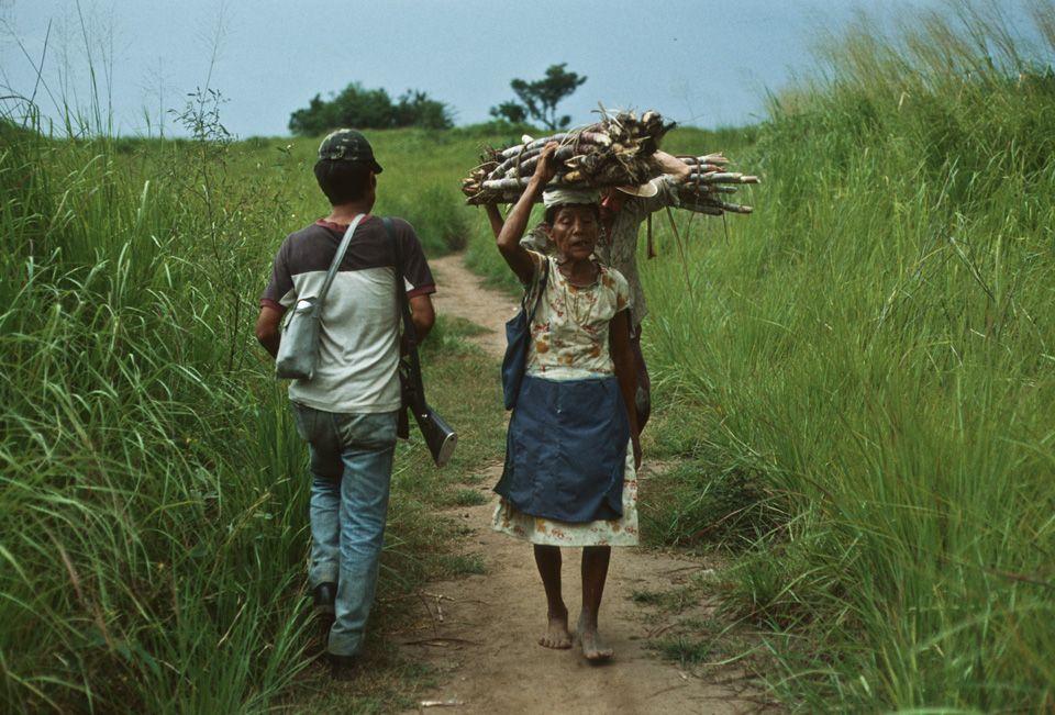1984. Vida contidiana en un territorio controlado por la guerrilla.