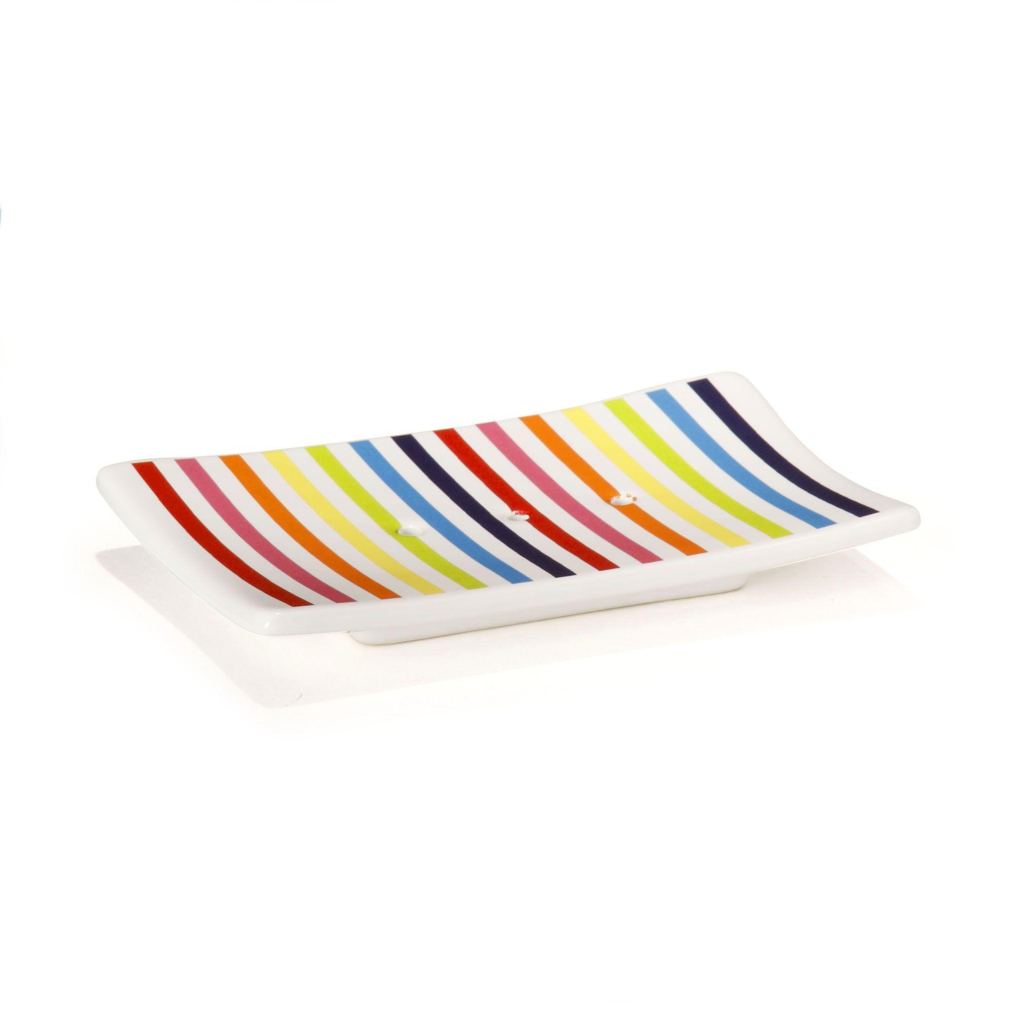 en cramique multicolore shine porte savons et distributeurs accessoires de salle de bains toute la dco dcoration dintrieur alina plus - Alinea Salle De Bain Accessoires
