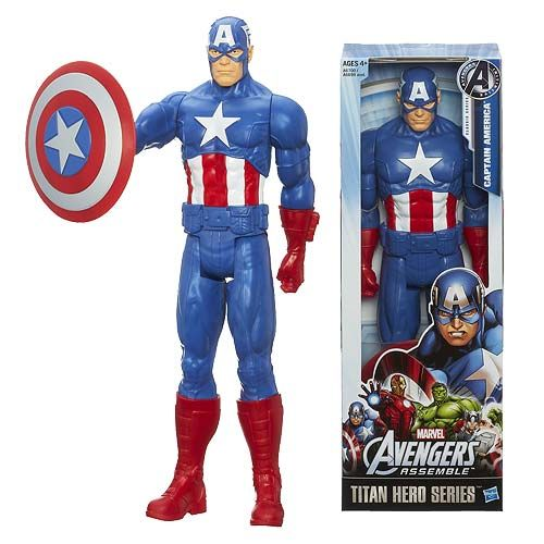 Avengers Titan Captain America Action Figure