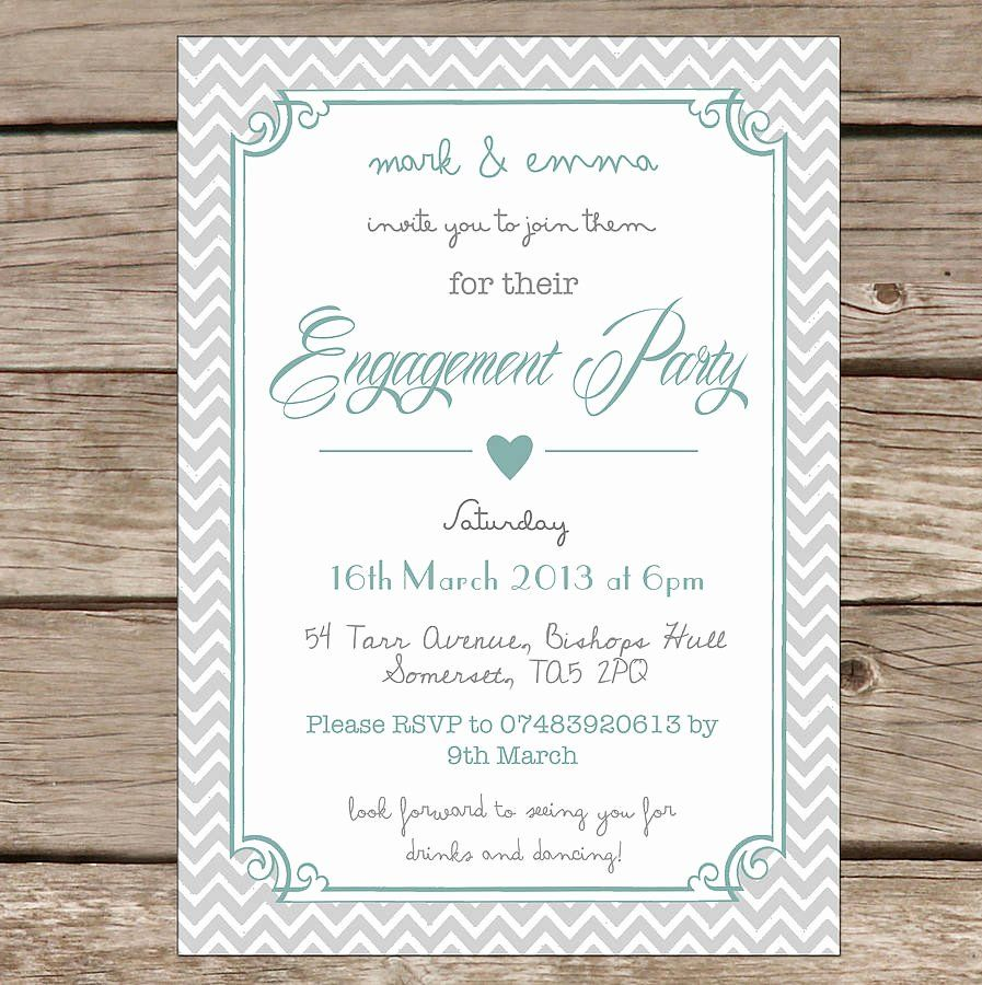 Free Engagement Party Invitation Template   Printable engagement