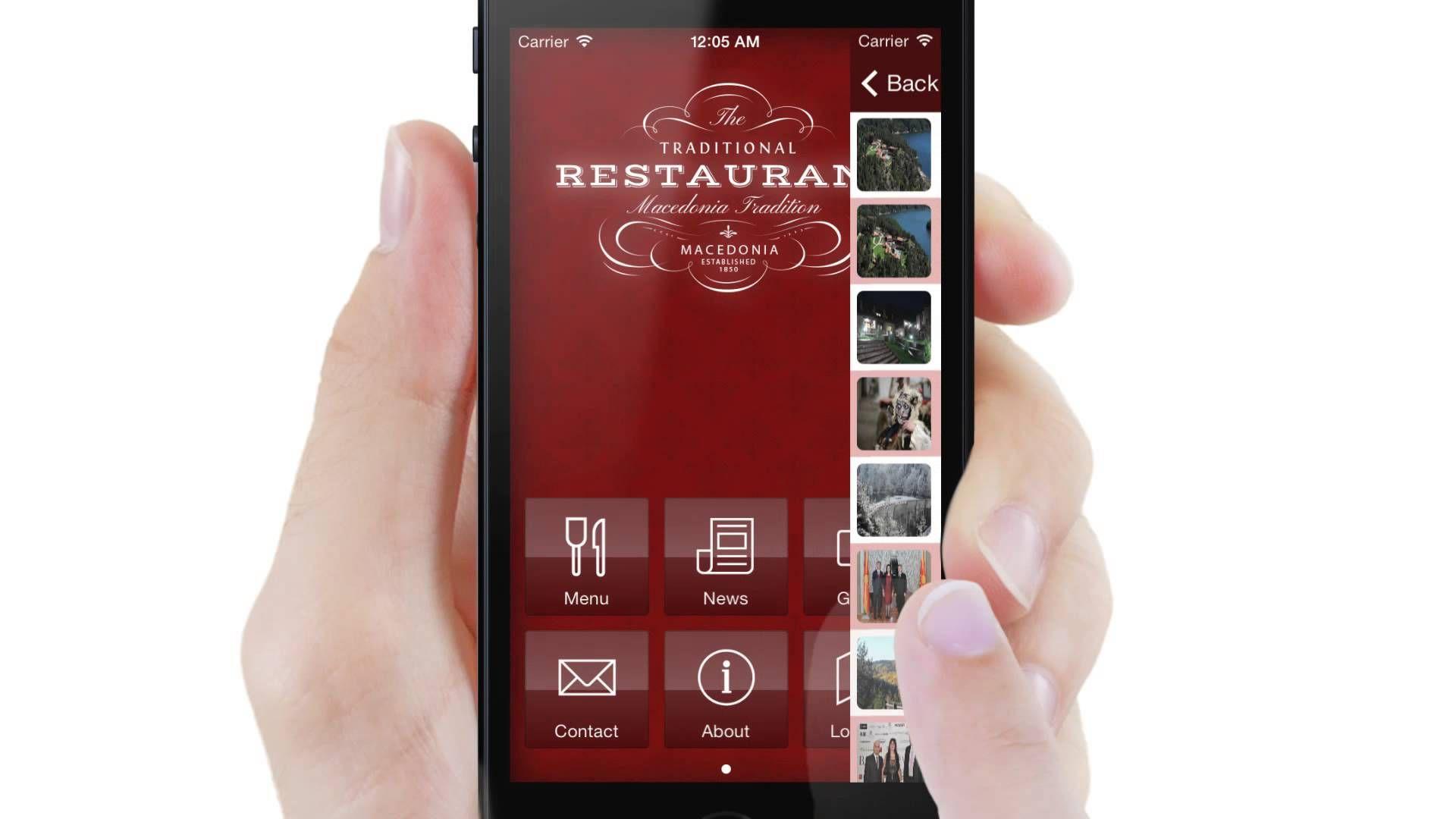 Restaurant app template Restaurant app
