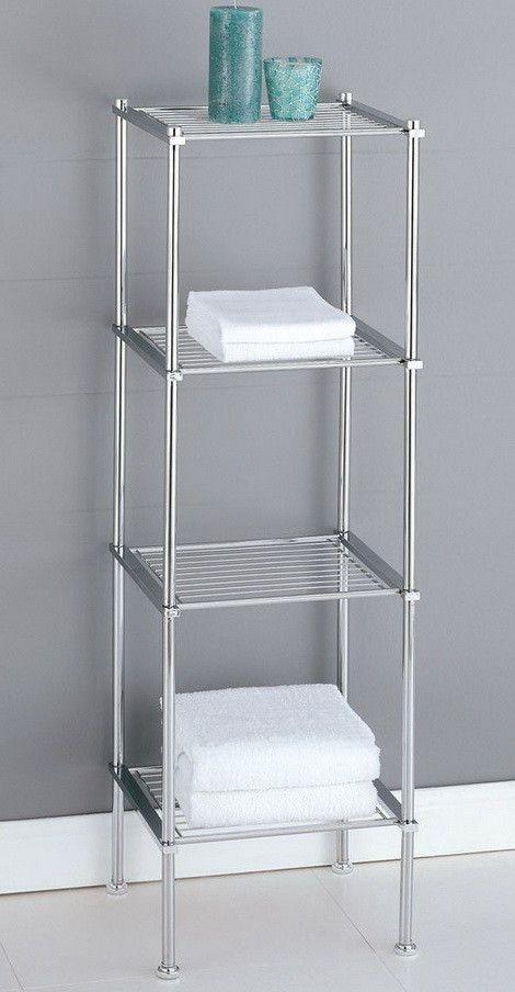 Organize It All Metro 4-Tier Shelf