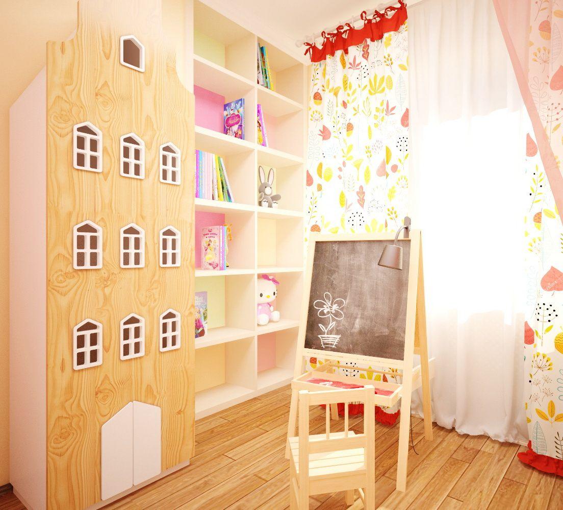 children room interior design Дизайн интерьера детской комнаты для девочки