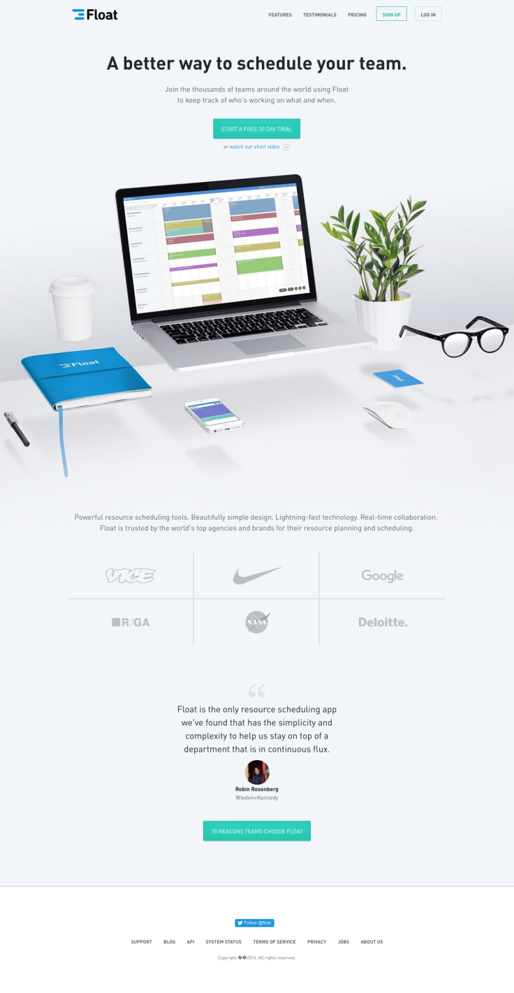 Simple Site Design Navigation Slider Pricing Powerful Resource Scheduling Tools Web Development Design Web Design Inspiration Web Design Projects