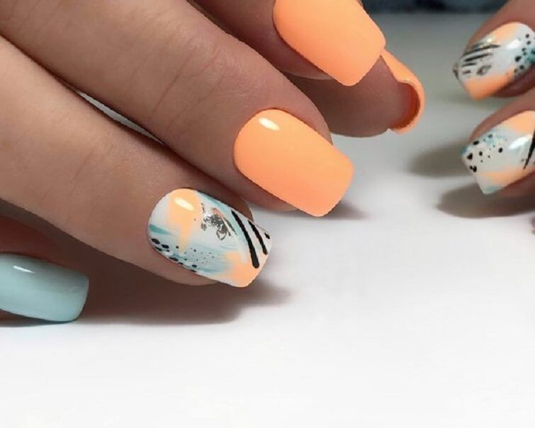 Nail Art 4910 Best Nail Art Designs Gallery Bestartnails Com Summer Nails Stained Nails Nail Art Design Gallery