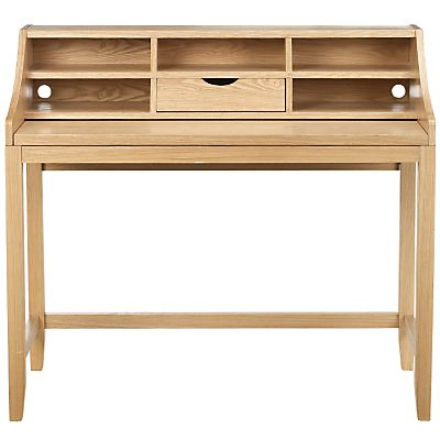 Buy John Lewis Loft Desk, Oak Online At JohnLewis.com   John Lewis