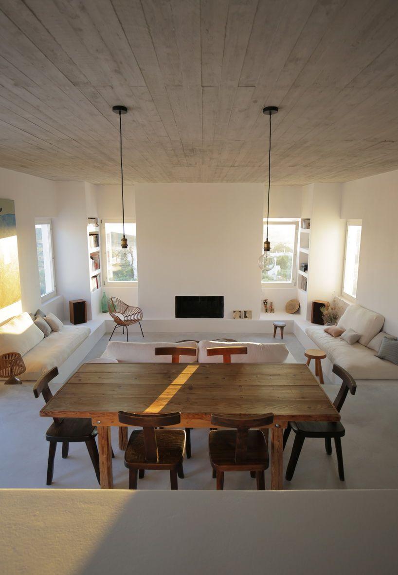React Architects Inserts Maison Kamari Into The Arid Greek Landscape