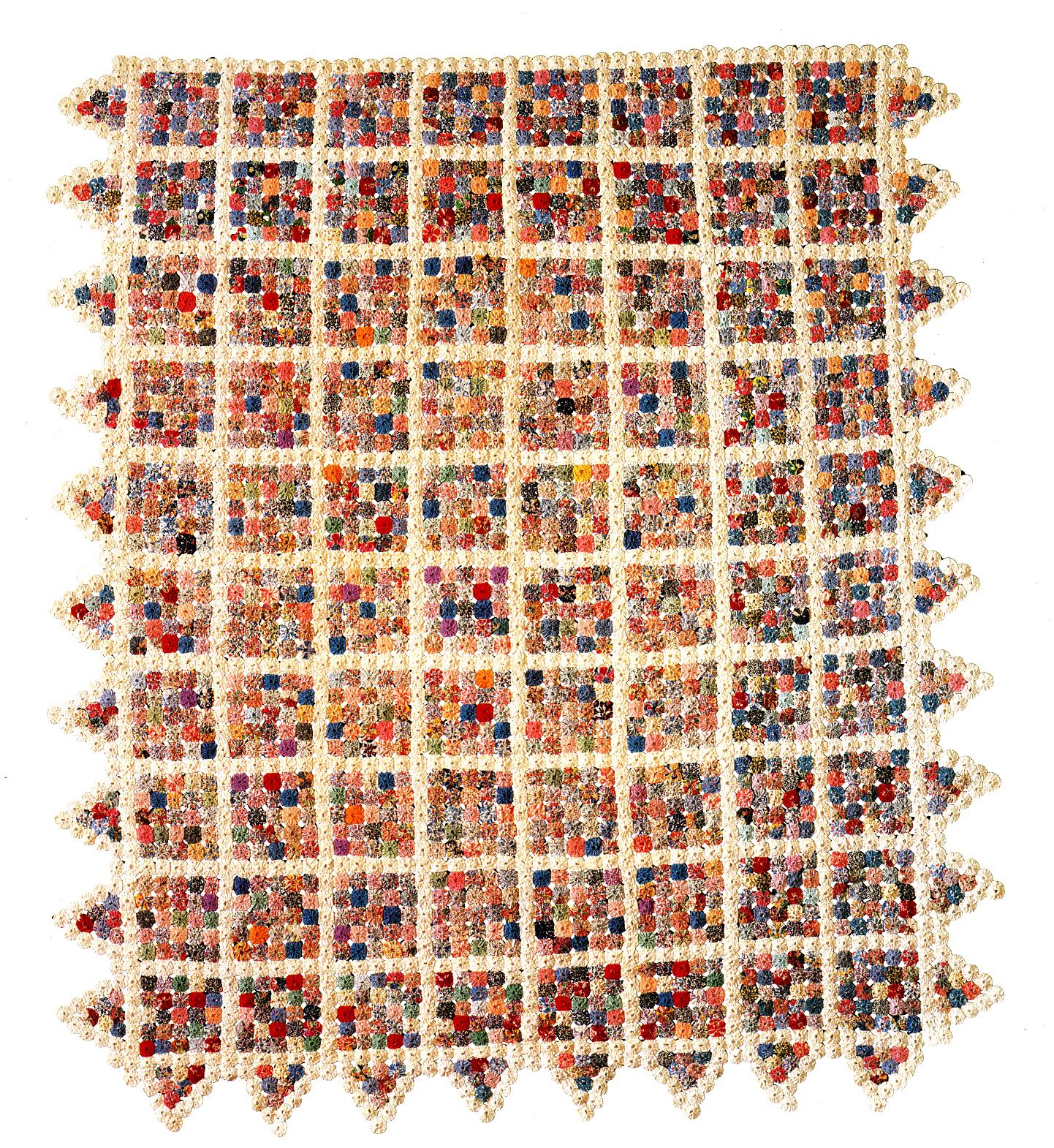Yo-Yo Blocks, 1920-1930, cotton, Shelburne Museum