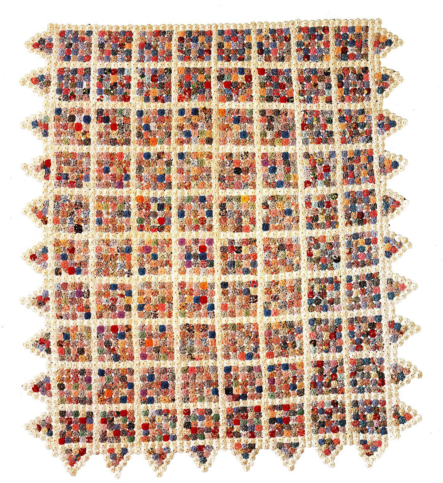 Yo-Yo Blocks, 1920-1930, cotton, Shelburne Museum