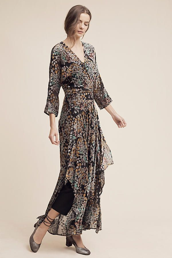 Nwt Anthropologie Woodlands Maxi Dress By Moulinette Soeurs Size 16