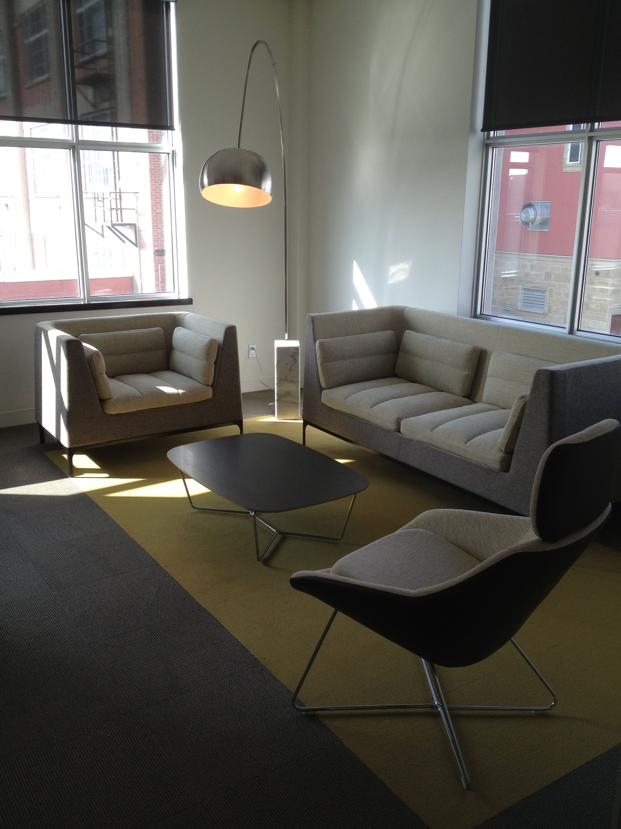 Allermuir Haven seating with Open Lounge | Allermuir ...