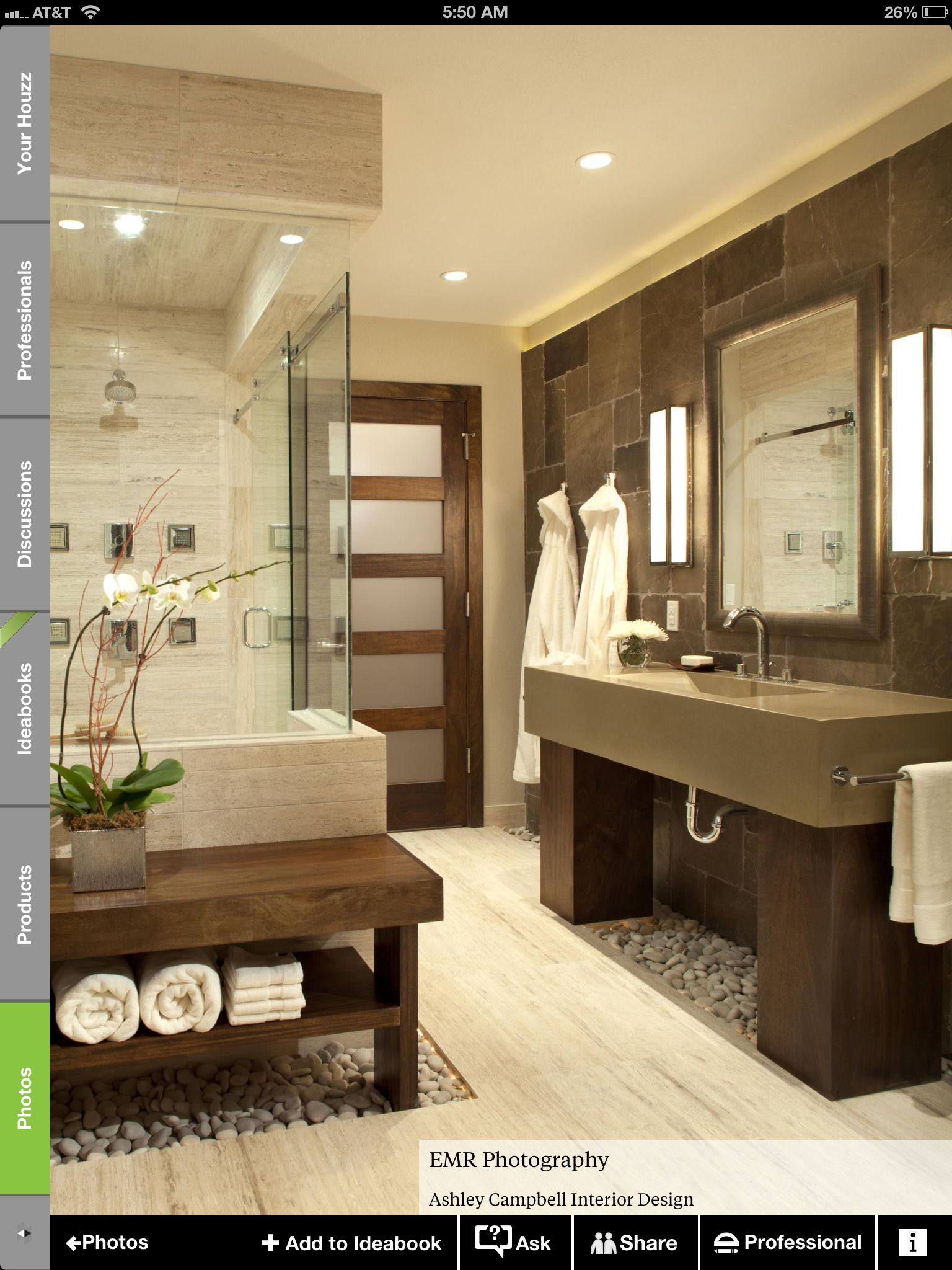 Gut Basement Bathroom , Kind Of Zen Beton Badezimmer, Waschraum, Badezimmer  Design, Waschbecken,