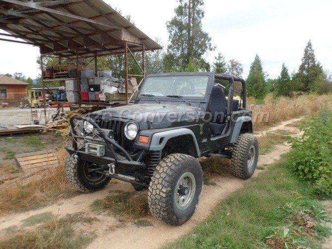 1999 Jeep Wrangler Sport Bfgoodrich Mud Terrain T A Km2 35 12 50