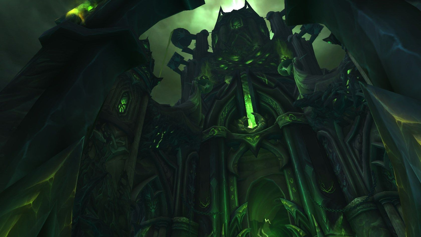 Close up in-game of the Tomb of Sargeras #worldofwarcraft #blizzard #Hearthstone #wow #Warcraft #BlizzardCS #gaming