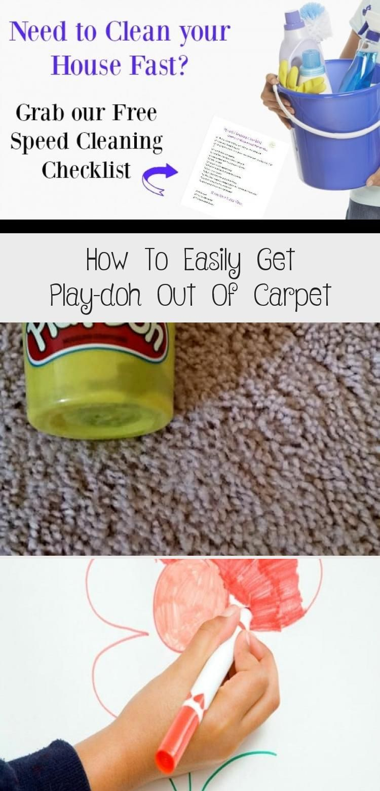How To Easily Get Play Doh Out Of In 2020 With Images How To Clean Carpet Carpet Cleaning By Hand Play Doh