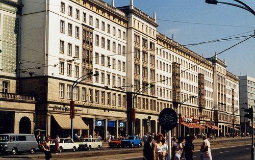 nice Magdeburg WilhelmPieckAllee DDR Aug 1988