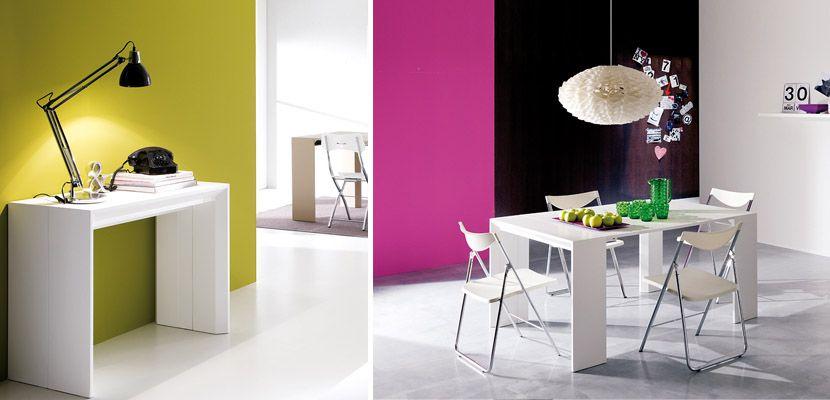 Mesas transformables de comedor resource furniture for Mesas para espacios pequenos
