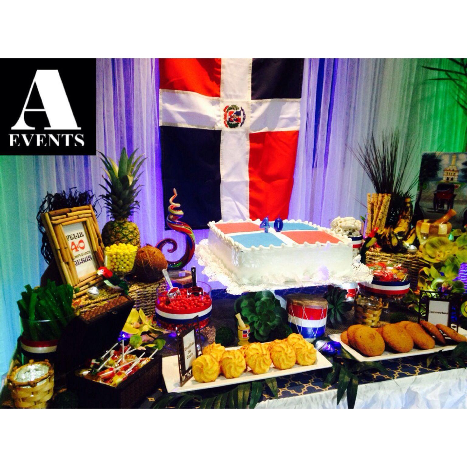 #aevent#dominican#dominicanrepublic#Caribbean#theme#bday#dr#bizcocho