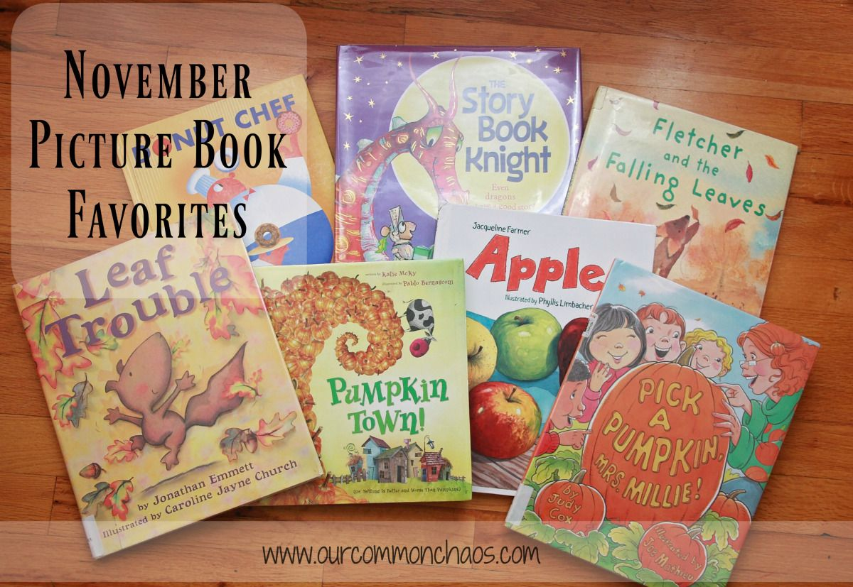 Picture Books Perfect for November