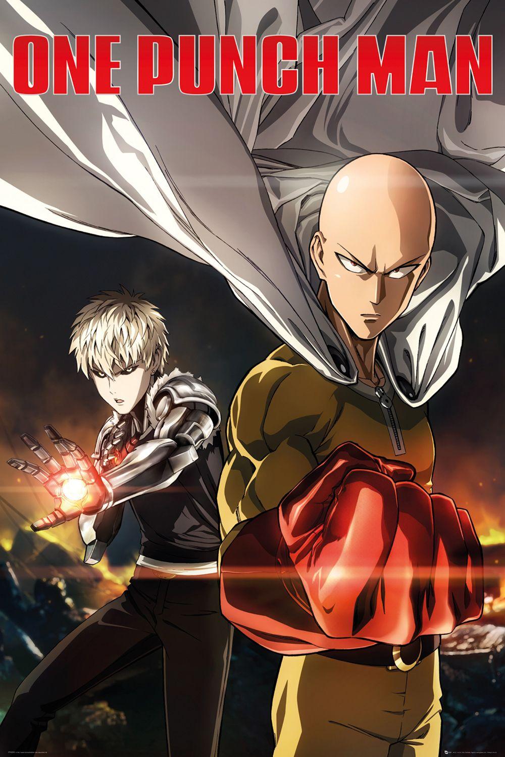 One Punch Man Poster Destruction Personagens De Anime Manga One Punch Man Anime One Punch Man