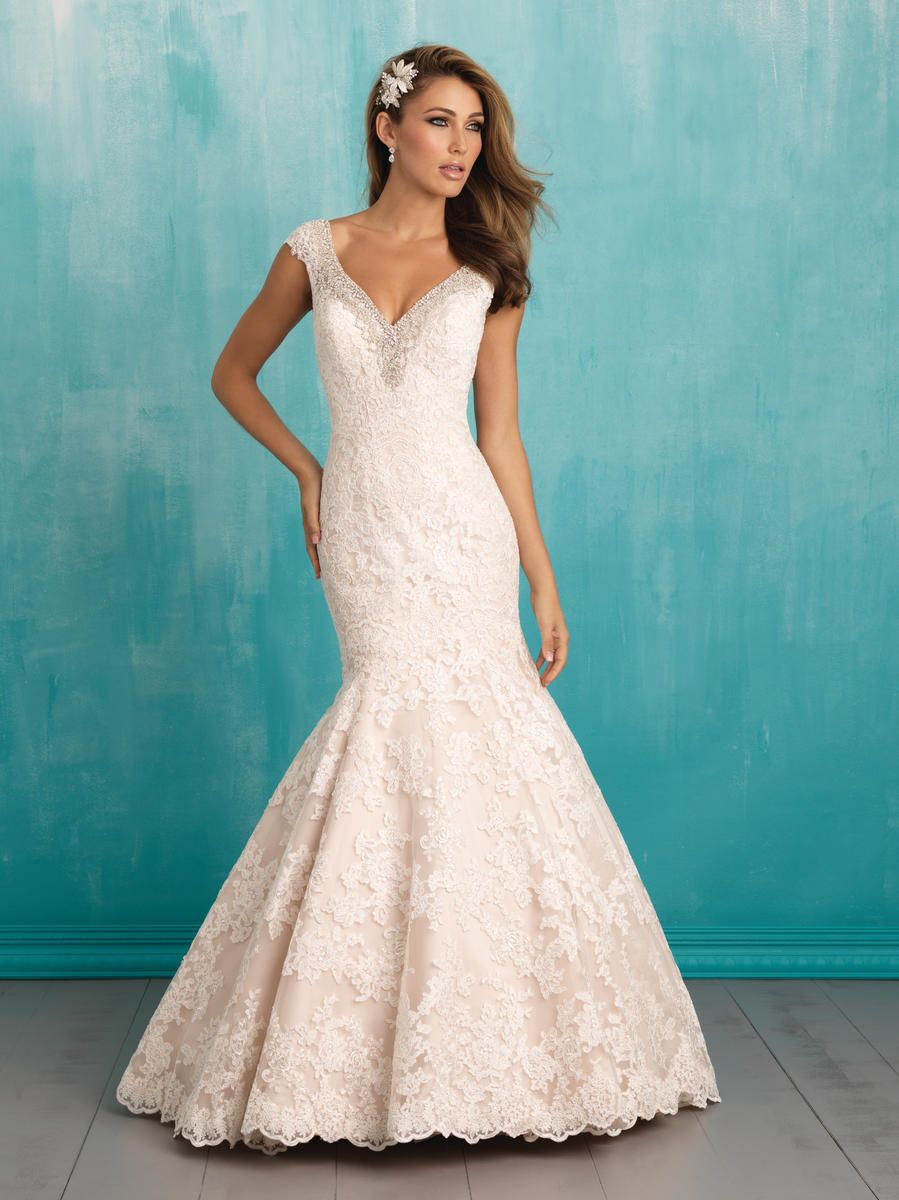 Allure Bridal 9311 | Bridal Gowns | Pinterest | Allure bridal ...