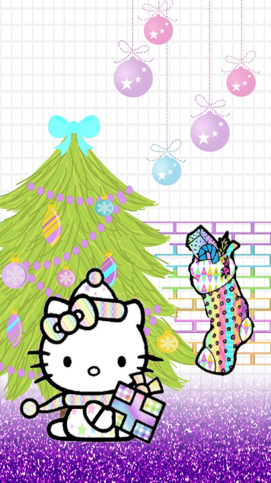 Blingin android christmas tjn iphone walls christmas blingin android christmas tjn xmas wallpaperhello kitty voltagebd Image collections