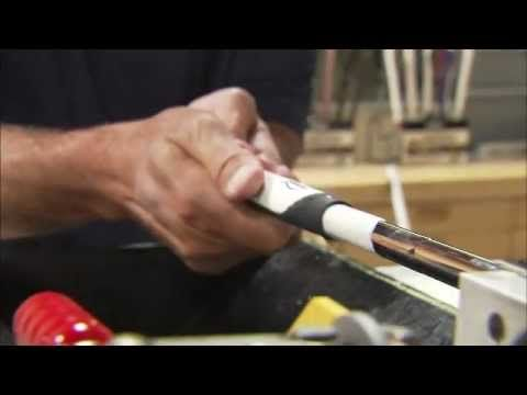 Regripping Golf Clubs Step By Step Tutorial Lamkin Golf Grips Golf Grip Golf Putting Golf Lessons