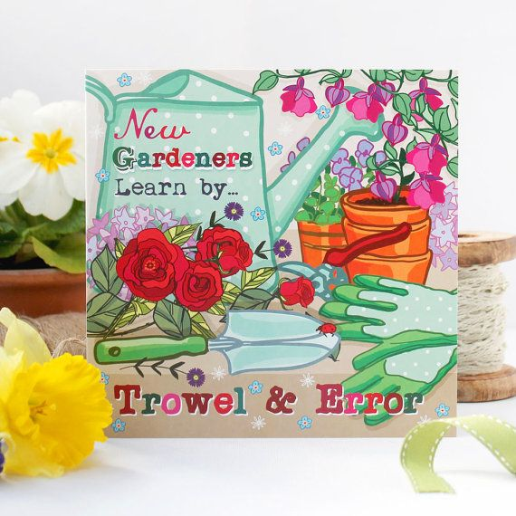 Greetings Card For Gardeners