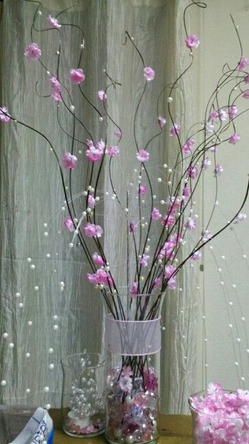 Pink Blossoms Completed Projects Pinterest Christmas Table