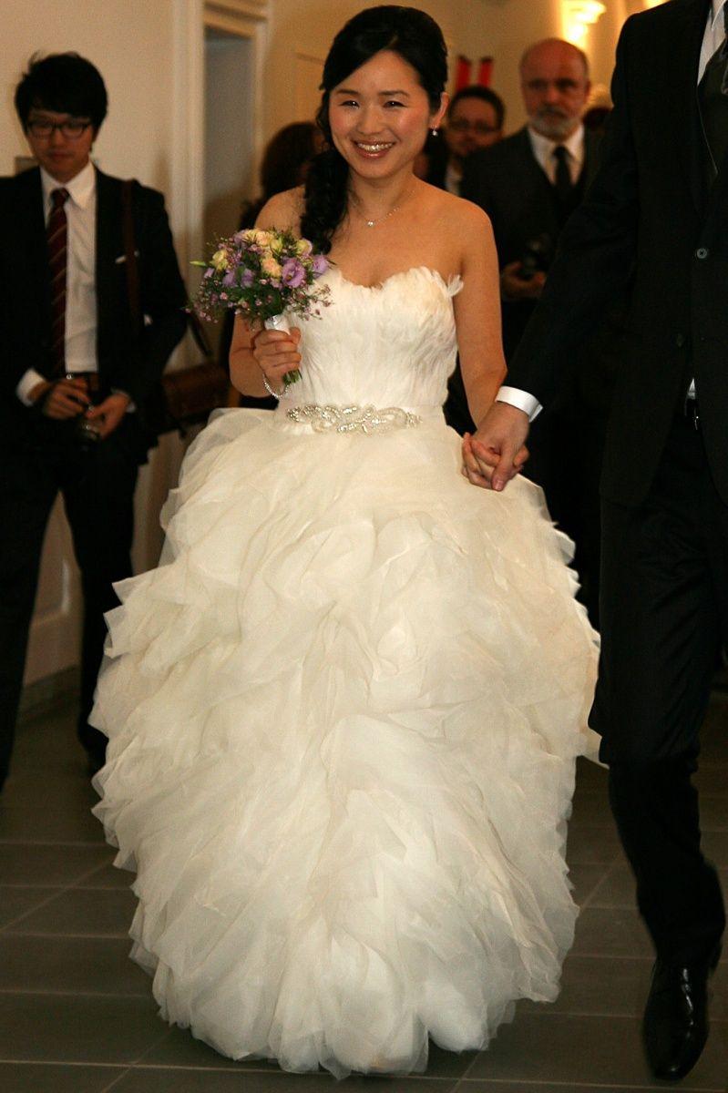 ♥ Wunderschönes Brautkleid von Pronovias Bengasi Gr. 30 zu ...