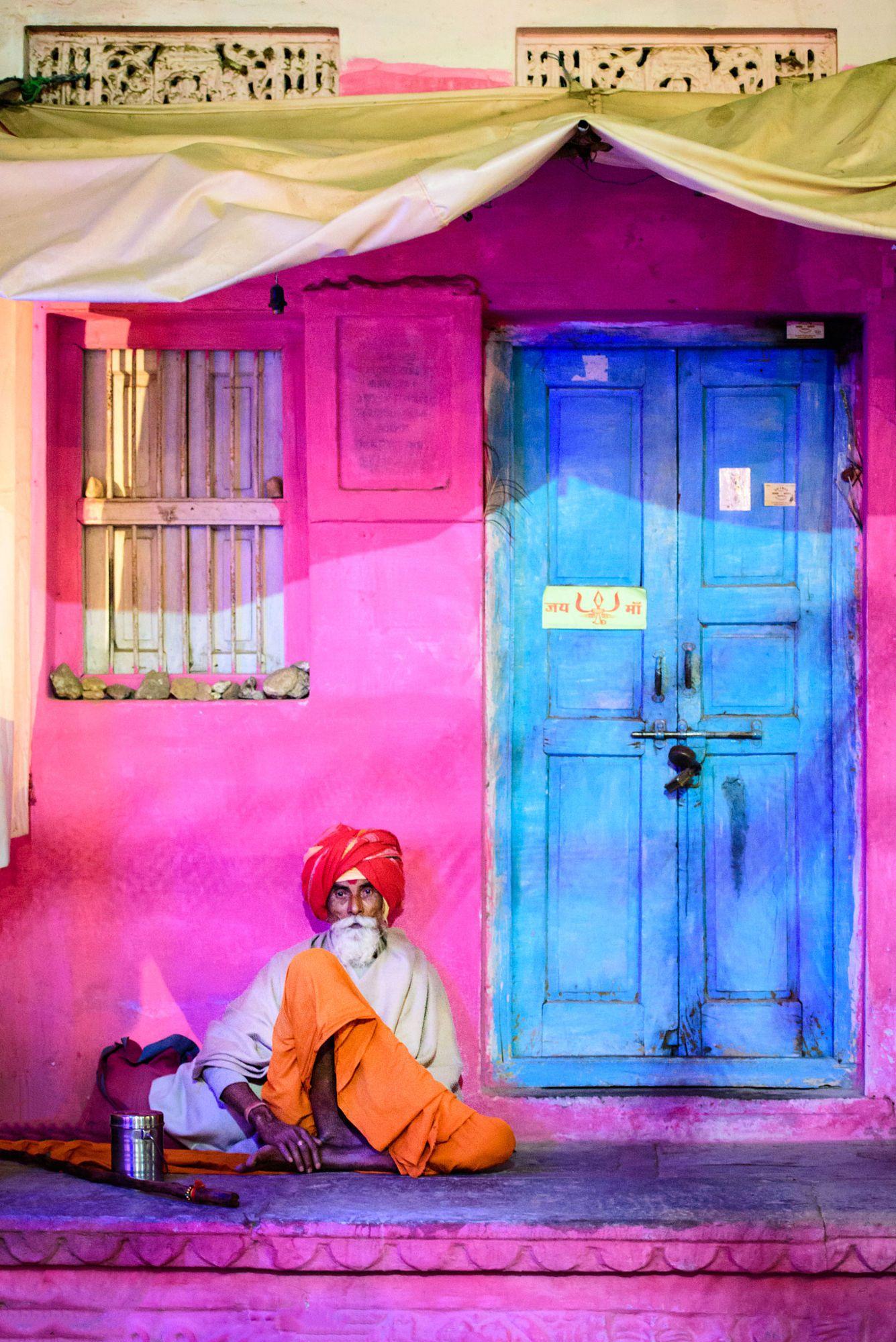 House of colours, Jodphur, India | india | Pinterest | India, India ...