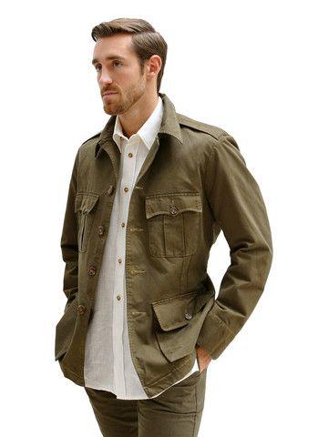 fa53b90f59 CLASSIC TAILORED SAFARI JACKET – Hickman & Bousfield | Nomad Uniform ...
