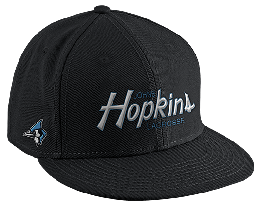 609516720 Nike Lacrosse SnapBack Lacrosse Hat - Johns Hopkins University Blue ...