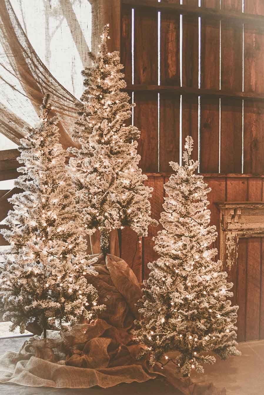 Wedding Reception Barn Wedding Decor Christmas Wedding Wedding Reception Floral Centerpie Wedding Themes Winter Winter Barn Weddings Barn Wedding Reception